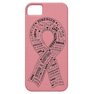 Customizable Cancer Awareness Phone Case - Pink