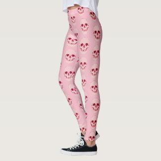 Customizable Candy Pop Babygirl Skull Leggings