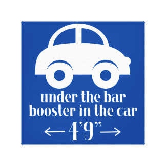 Customizable Car Wrapped Canvas Sign