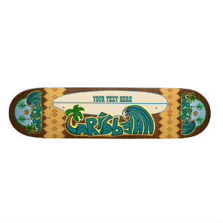 Customizable Caribbean Epics Edition Skate Boards