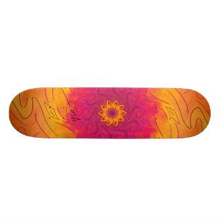 Customizable Carnation (Psychedelic spirograph) Skateboards