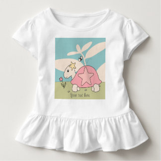Customizable Cartoon Star Tortoise Shirt