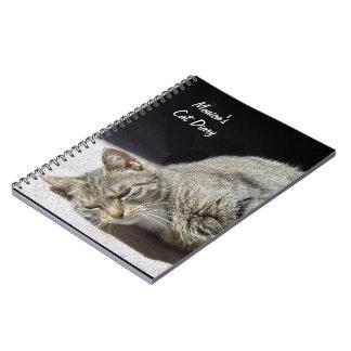 Customizable Cat Diary Note Book