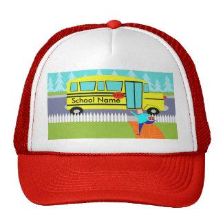 Customizable Catching the School Bus Trucker Hat