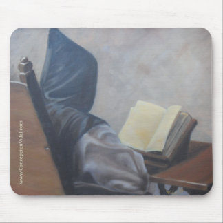 Customizable Catholic Monk mousepad