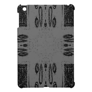 Customizable Center Gray Black Gothic Case For The iPad Mini