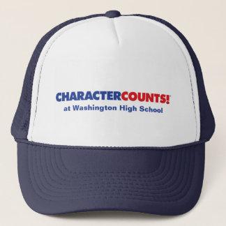 Customizable CHCARACTER COUNTS! Hat