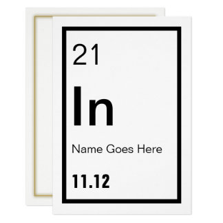 Customizable Chemist Party Invitation