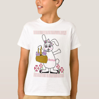 Customizable Child's Easter Bunny T-Shirt