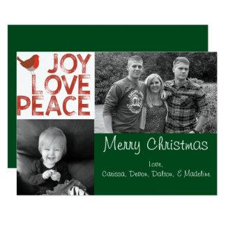"""Customizable Christmas Card 5"""" X 7"""" Invitation Card"""