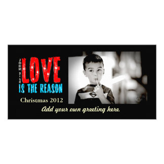 Customizable Christmas/Holiday Photo Greeting Card