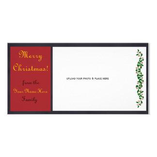 Customizable Christmas Photo Card - #1