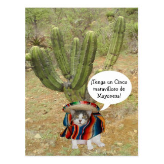 Customizable Cinco de Mayo Postcard