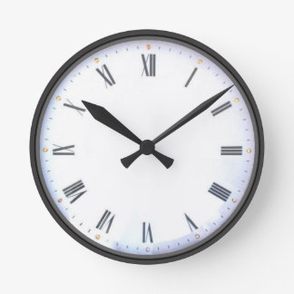 Customizable Classic Roman Numeral Wall Clocks