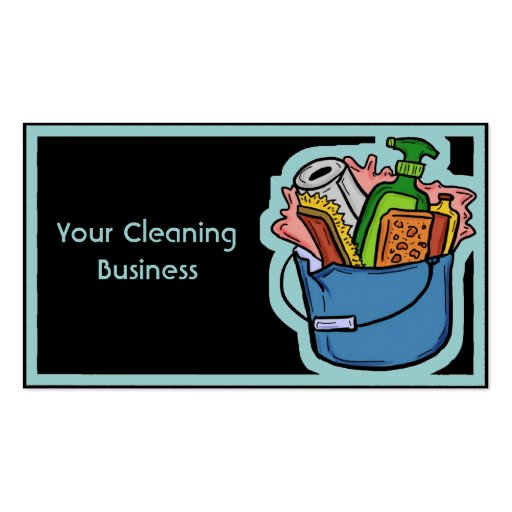 Product Line Card Template Word: Customizable Cleaning Business Card Template At Zazzle.ca