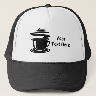 Customizable Coffee Trucker Hat