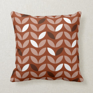 Customizable Color Abstract Decorative Pattern Throw Pillow