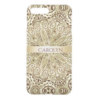 Customizable Color Gold Mandala iPhone 7 Case