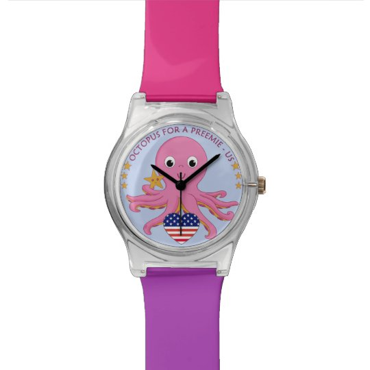 Customizable Colours Wrist Watch OFAP - US