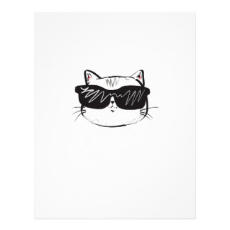 Customizable Cool Cat Letterhead