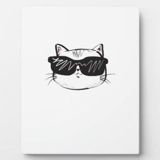 Customizable Cool Cat Plaque
