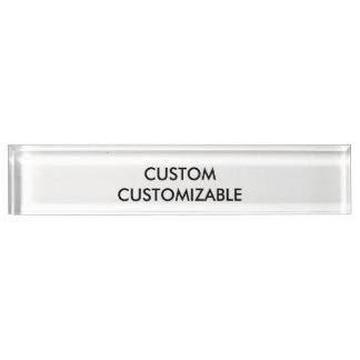 Customizable Customize Custom Blank Desk Name Plates