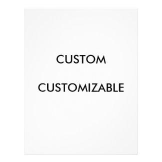 Customizable Customize Custom Blank Letterhead