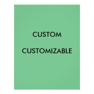 Customizable Customize Custom Green Blank Letterhead Template