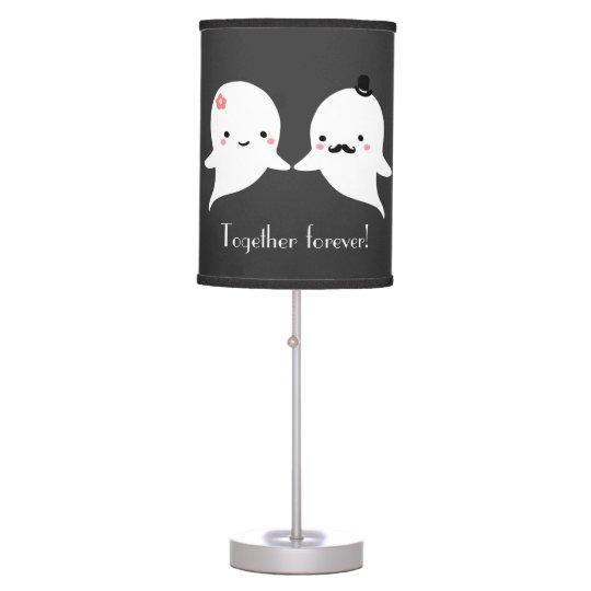 Customizable Cute Ghost Couple Desk Lamps
