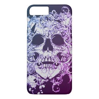 Customizable death swirl skull iphone 7 plus case