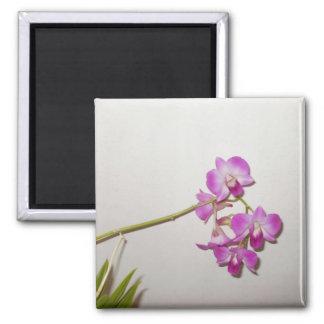 Customizable Decorative Orchid  Magnet