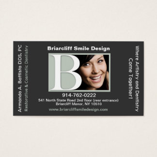 Customizable Dental Appointment Business Card