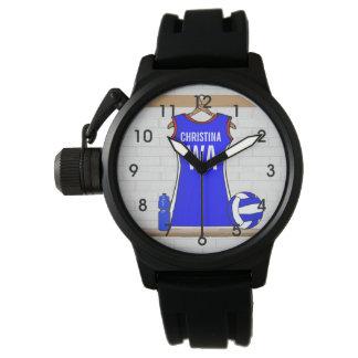 Customizable designer netball Watches