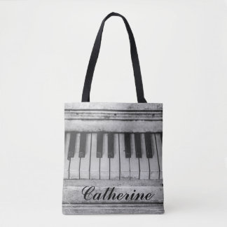 Customizable Distressed Vintage Piano Bag