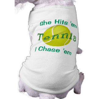 Customizable Dog Shirts for the Tennis Ball Dog