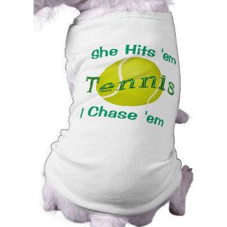 Customizable Dog Shirts for the Tennis Ball Dog Dog T Shirt