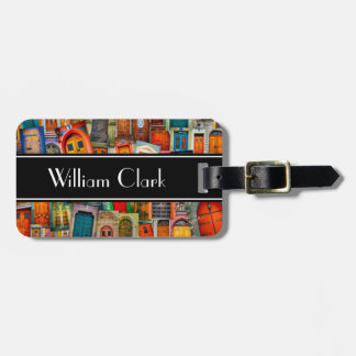 Customizable Doors of the World Luggage Tag