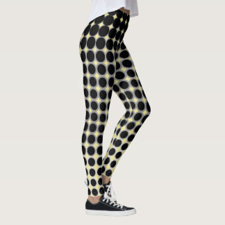 customizable dotted out casual leggings