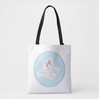Customizable Dream Angel Tote Bag