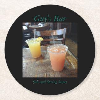 Customizable Drink Photo Coasters