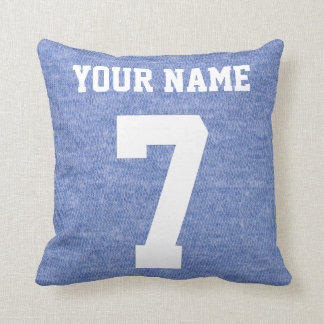 Customizable Dutch Ice Hockey Logo Pillow