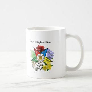Customizable Eastern Star Floral Mug