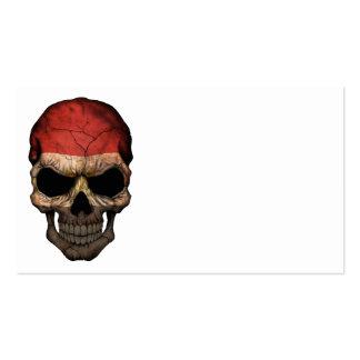 Customizable Egyptian Flag Skull Business Cards