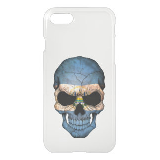 Customizable El Salvador Flag Skull iPhone 8/7 Case