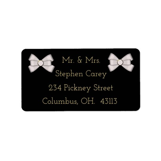 Customizable Elegant ADDRESS LABELS