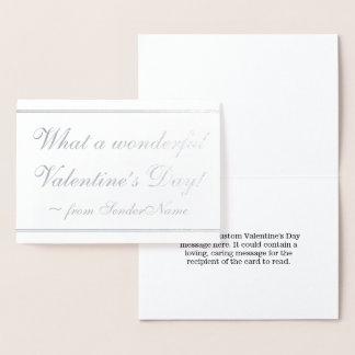 Customizable & Elegant Valentine's Day Card