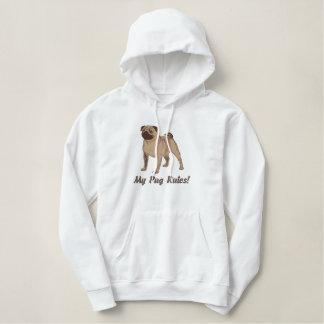 Customizable Embroidered Pug Sweatshirts