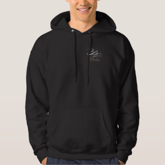 Customizable Employee Uniform Black, Champagne Men Hoodie