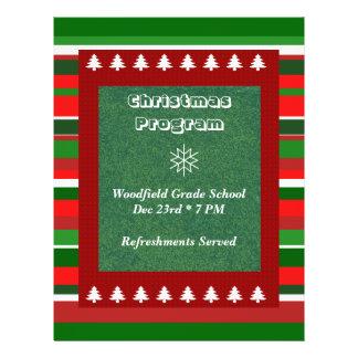 Customizable Event: Christmas Program Flyer