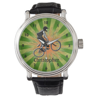 Customizable Extreme Biker Design Watch